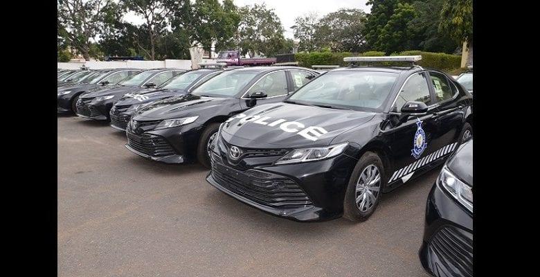 La Chine offre 100 véhicules de police au Ghana