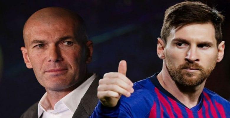 Clasico: la stratégie de Zidane pour stopper Lionel Messi