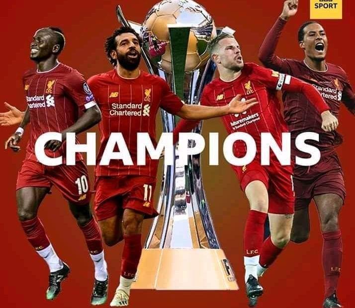 Classement des meilleurs clubs européens pour l'année 2019