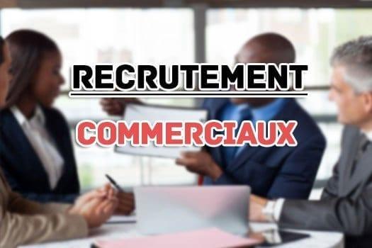 Recrutement Pour Agents Commerciaux