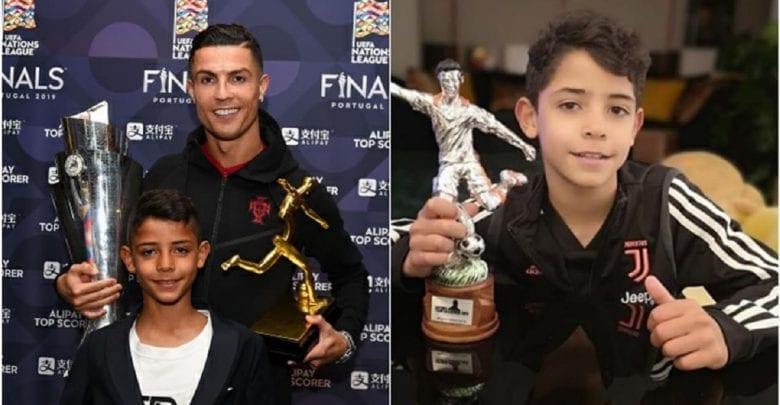 Cristian Ronaldo: son fils remporte un trophée individuel avec l'équipe de la Juventus U9