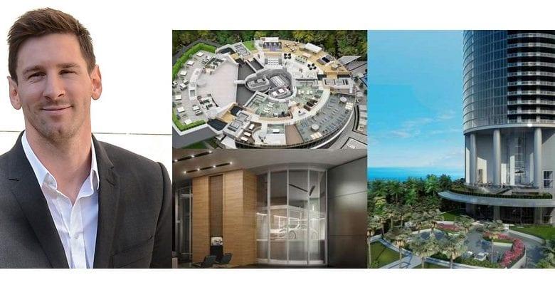 Découvrez le luxueux immeuble de Messi à Miami: Ascenseur de voitures, 60 étages et vue sur mer