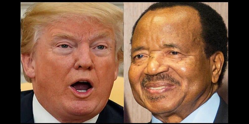 Paul Biya se réjouit du procès de destitution de Donald Trump