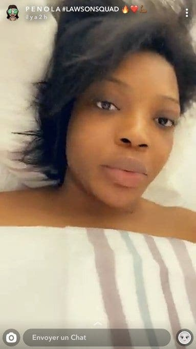 Fausse grossesse Penola Lawson , la youtubeuse