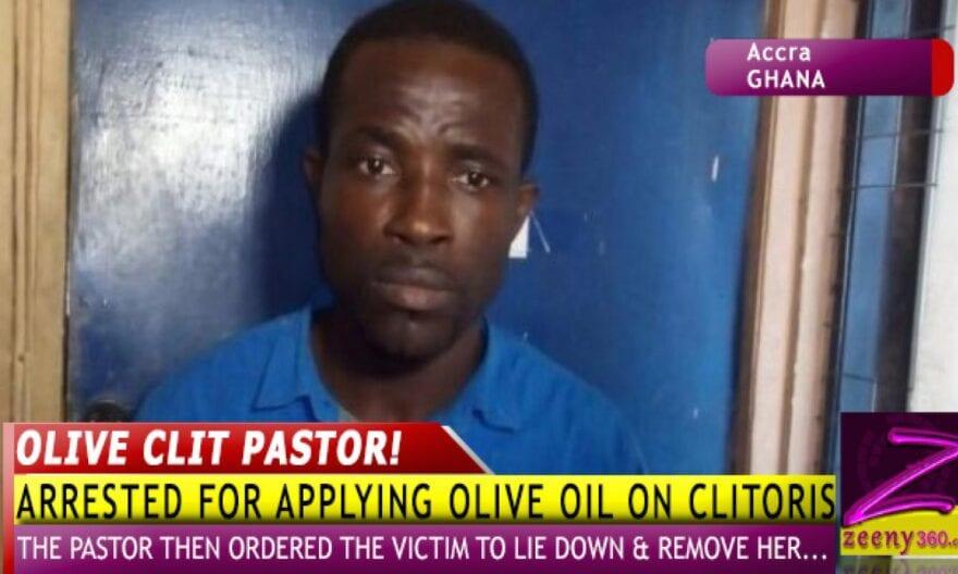 GHANA: Un pasteur met de l'huile d'onction sur le clitoris d'une fidèle