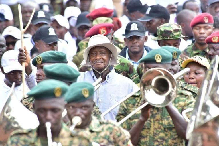 «L'obésité est un signe de corruption», dixit le Président  ougandais Yoweri Museveni