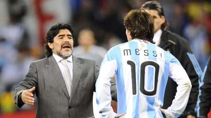 Maradona à Messi: «Inutile de faire d'un homme un chef alors qu'il va 20 fois aux toilettes avant le match»