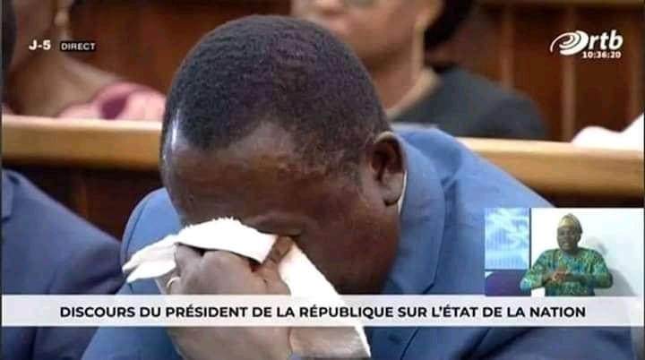 Bénin: Que cachent les larmes du ministre de l'agriculture lors du discours de Talon?