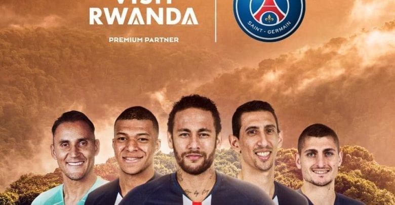 Football : le Rwanda, nouveau sponsor du Paris Saint-Germain