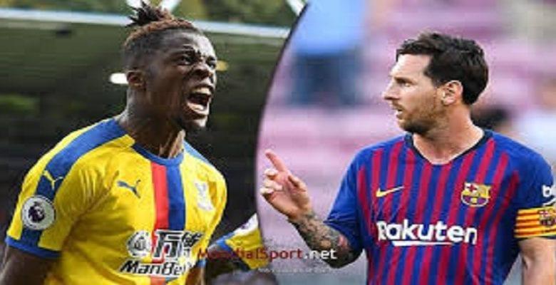 Football: Wilfried Zaha meilleur que Messi dans ce domaine