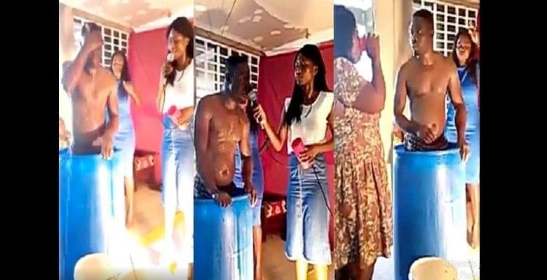 Ghana : un « pasteur » se lave à l'église et demande aux fidèles de boire l'eau de son bain (vidéo)