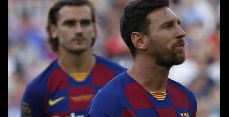 Griezmann: l'un de ses proches révèle pourquoi il ne s'entend pas avec Messi
