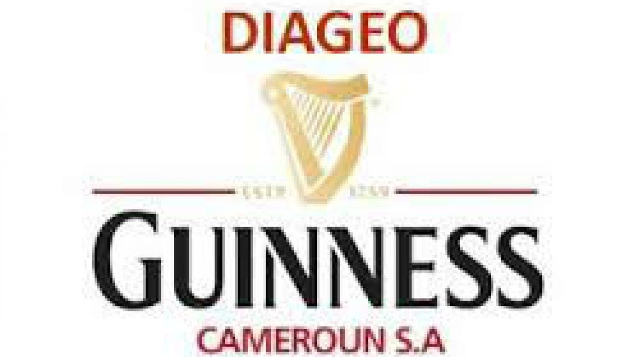 Diageo Guinness Cameroon S.A Recrute