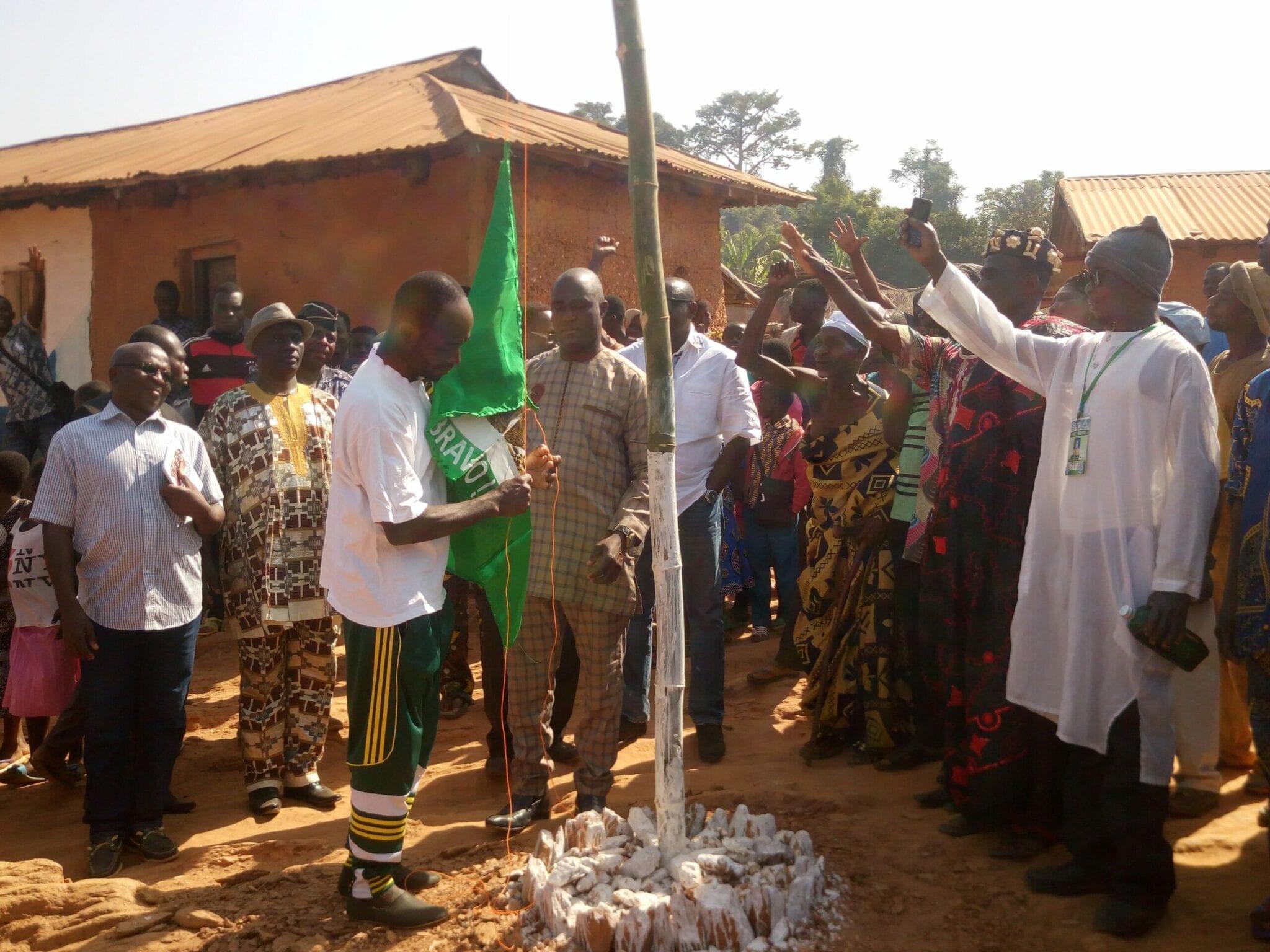 Préfecture de l'Akébou: Le village de Saraga célèbre son premier anniversaire de Fin de Défécation à l'Air Libre (FDAL)
