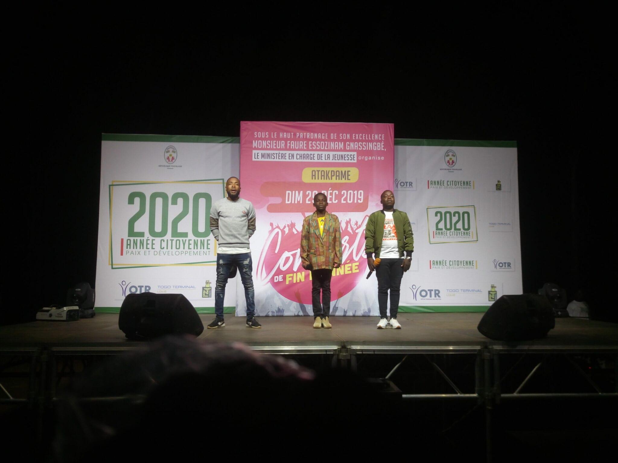 Atakpamé: Le méga concert de fin d'année a tenu toutes ses promesses
