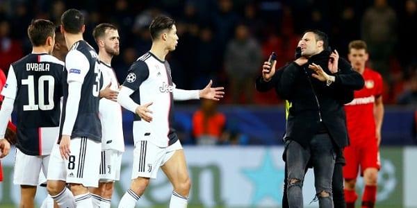 Juventus-Leverkusen: frayeur pour Ronaldo après le match