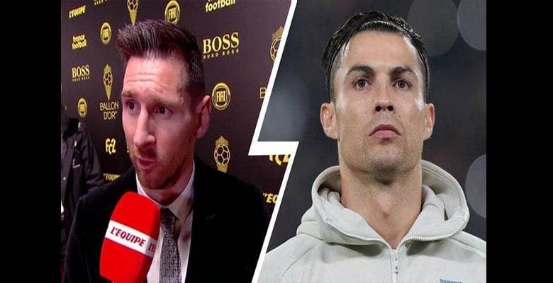 Lionel Messi défend Ronaldo après son absence au gala du Ballon d'Or