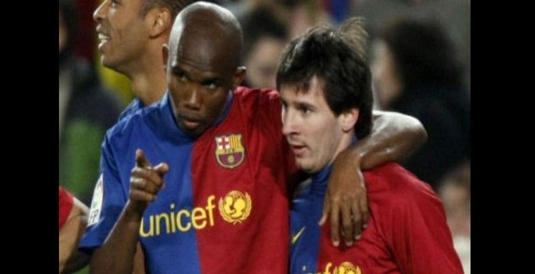 Lionel Messi révèle un conseil de Samuel Eto'o qui l'a aidé dans sa carrière
