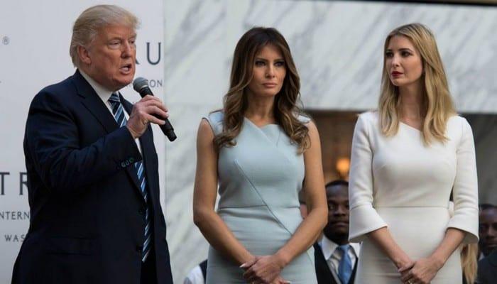 Melania entretient des relations tendues avec Donald Trump et Ivanka