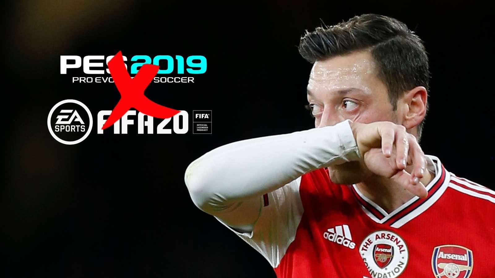 Mesut Özil dénonce la situation des musulmans en chinoise : il est supprimé de FIFA et de PES en Chine