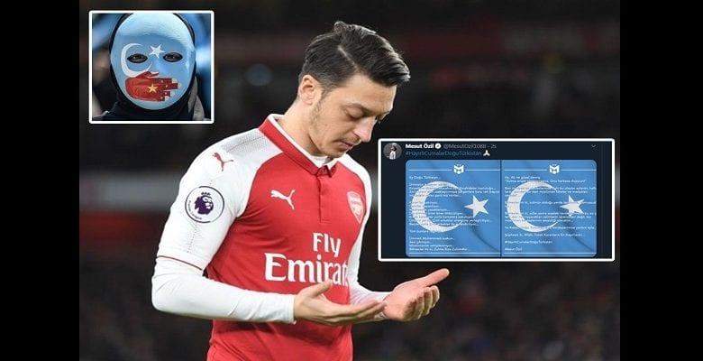 Mesut Ozil condamne le mauvais traitement infligé aux musulmans en Chine, Arsenal réagit