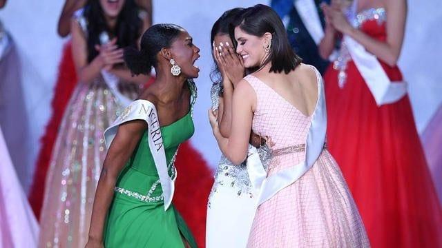 Miss Monde: la surprenante réaction de Miss Nigeria après la victoire de Miss Jamaïque-Vidéo