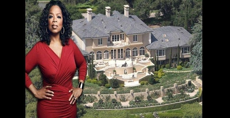 Oprah Winfrey : son luxueux manoir de 90 millions de dollars affole la toile (photos)