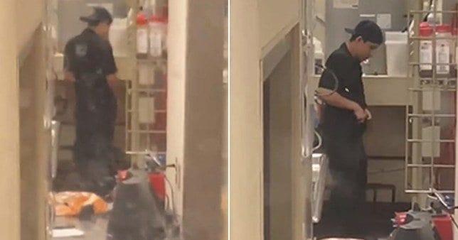 USA: Un employé de restaurent filmé entrain d'uriner dans sa cuisine