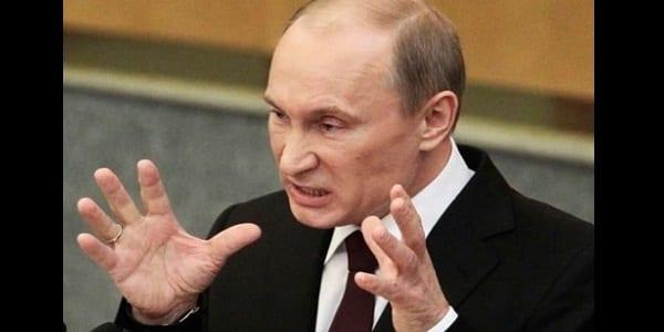 Poutine en colère contre le parlement européen pour « falsification de l'histoire », réagit!