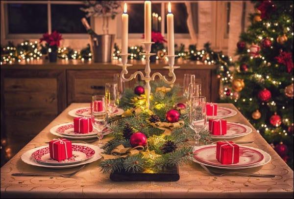 Qui dressera la plus belle table de Noël?