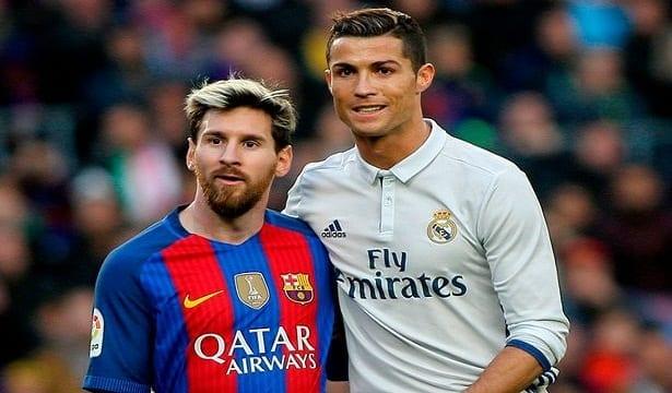 Que fait Cristiano Ronaldo lorsque le public crie le nom de son rival Messi ?