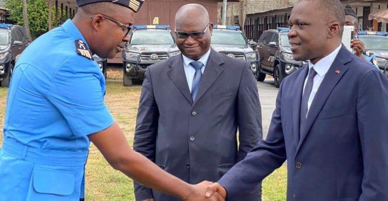 Sécurité routière : Le ministre Amadou Kone félicite la police spéciale