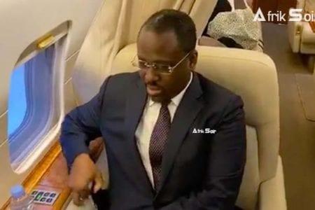 L'avion de Guillaume Soro quitte le Ghana pour l'Espagne