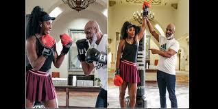 Boxe: Quand Serena Williams s'entraîne avec Mike Tyson (vidéo)