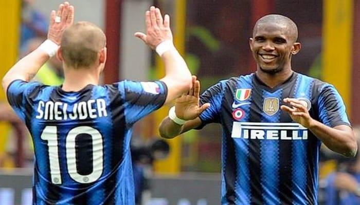 Sneijder révèle une anecdote sur Eto'o : « Non, je ne le fais que pour Mourinho »