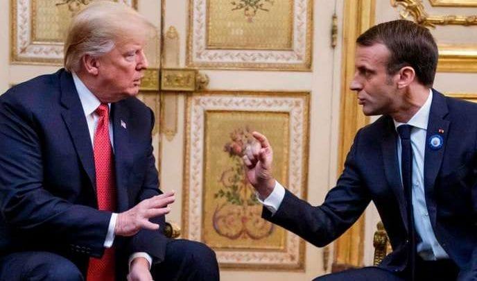 Sommet de l'Otan: échange tendu entre Macron et Trump