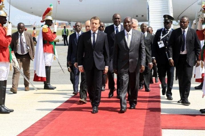 Emmanuel Macron sera en Côte d'Ivoire le 20 décembre