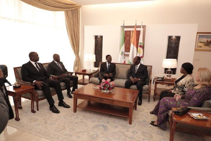 Visite du président équato-guinéen à Abidjan : Voici ce que Ouattara et Obiang Nguema se sont dit