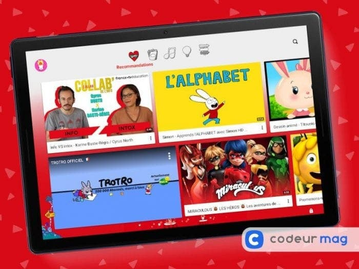 Youtube Kids : comment diffuser de la publicité