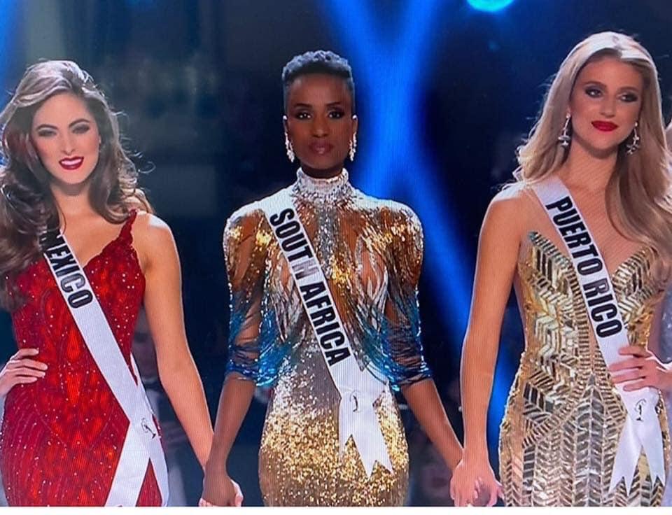 Zozibini Tunzi, Miss Afrique du sud, élue MISS UNIVERS 2019 (Photos)