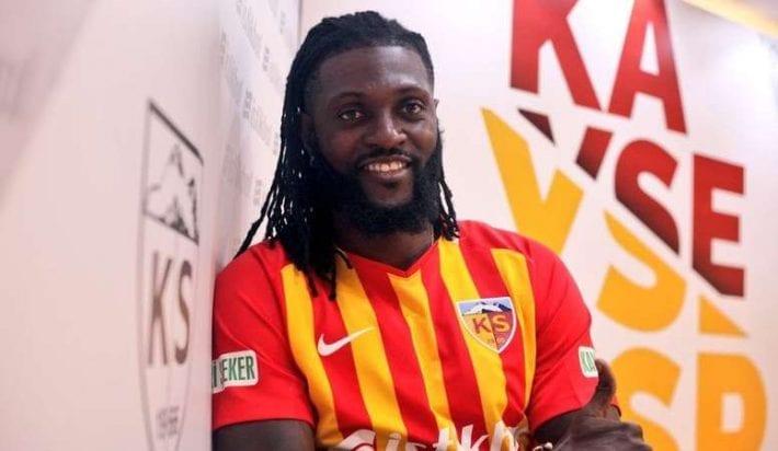 Emmanuel Adebayor dédommagé à hauteur de 130 Millions par Kayserispor
