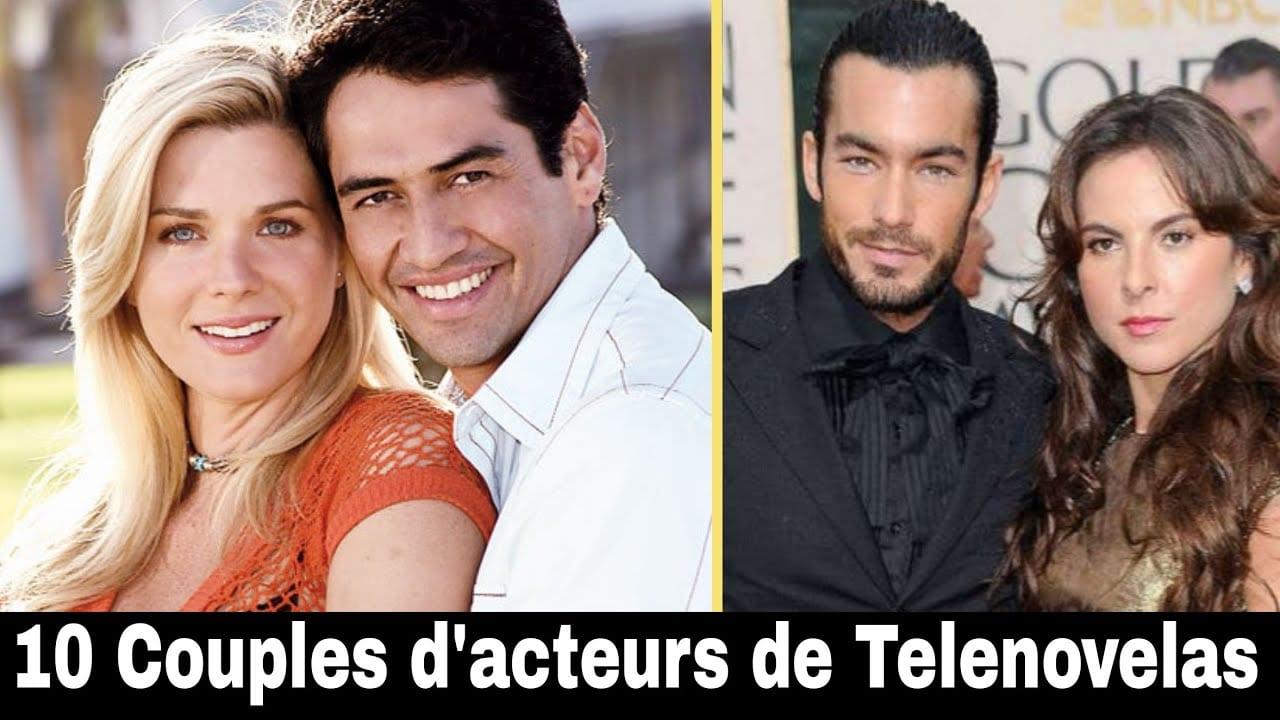 10 Couples d'acteurs de Telenovelas dans la vraie vie