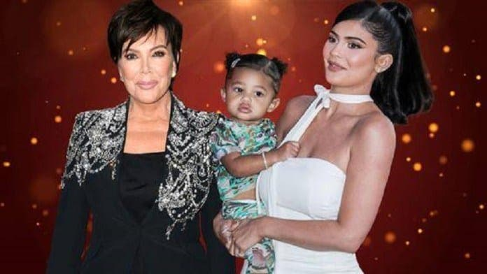 Kylie Jenner, sa fille Stormi reçoit une maison pour Noël