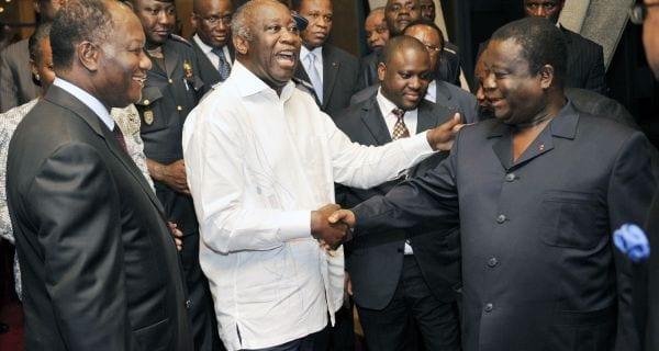 Ouattara, Bédié et Gbagbo invités à «sortir par la grande porte»