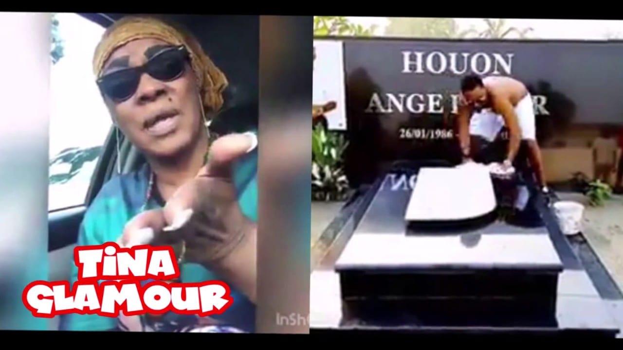 Tina Glamour rappelle sèchement à l'ordre le laveur de la tombe de Dj Arafat