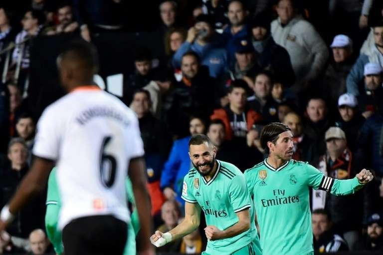 Le Real Madrid préserve le suspens avant le Clasico