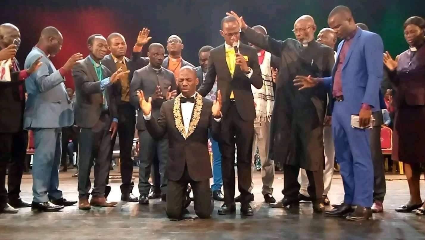 Le Général Camille Makosso désormais président des pasteurs de Cote d'Ivoire