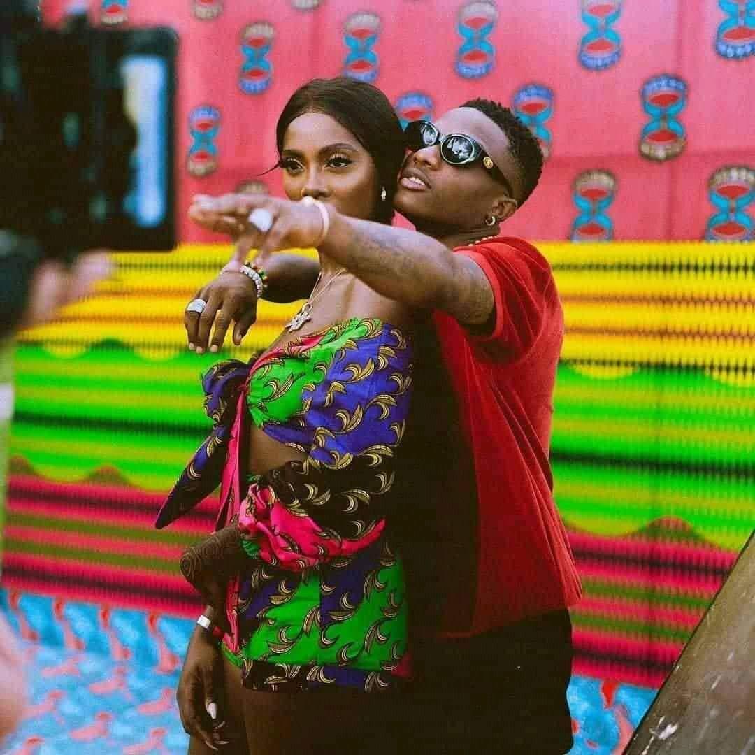 Tiwa Savage et Wizkid confirment leur relation amoureuse à travers une déclaration forte