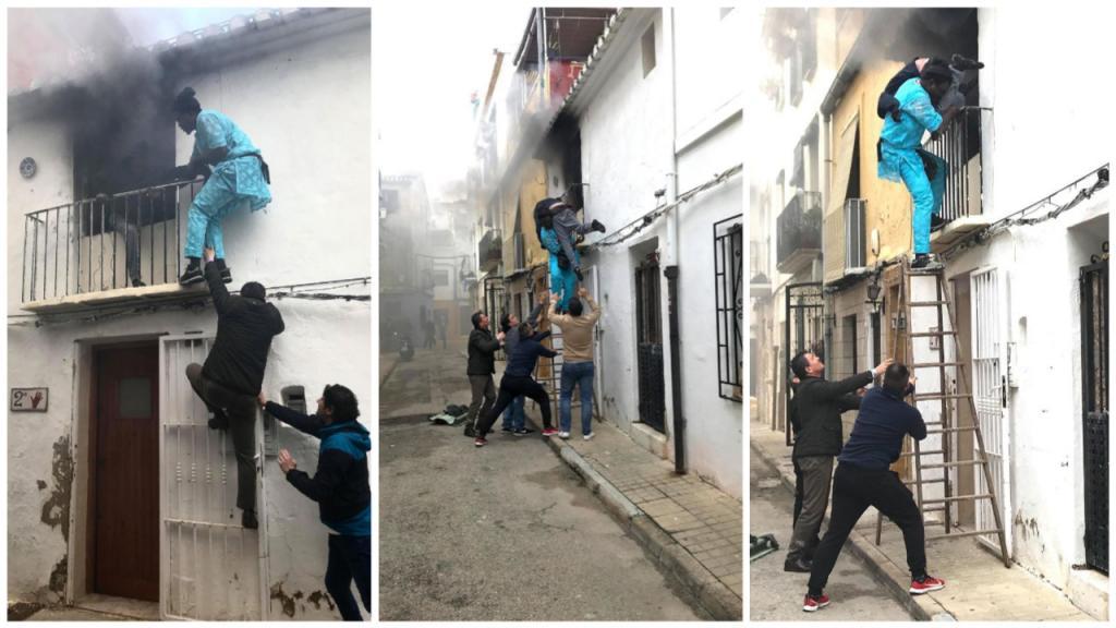 Nouveau Mamadou gassama ? Un autre sans papier qui sauve un handicapé en Espagne sans réfléchir