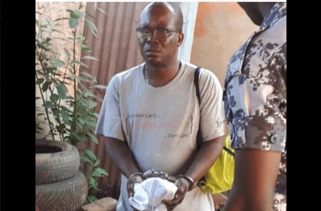 Le tueur en série Togolais Attiogbé Olivier arrêté. Voici ce qu'il a commis comme crime